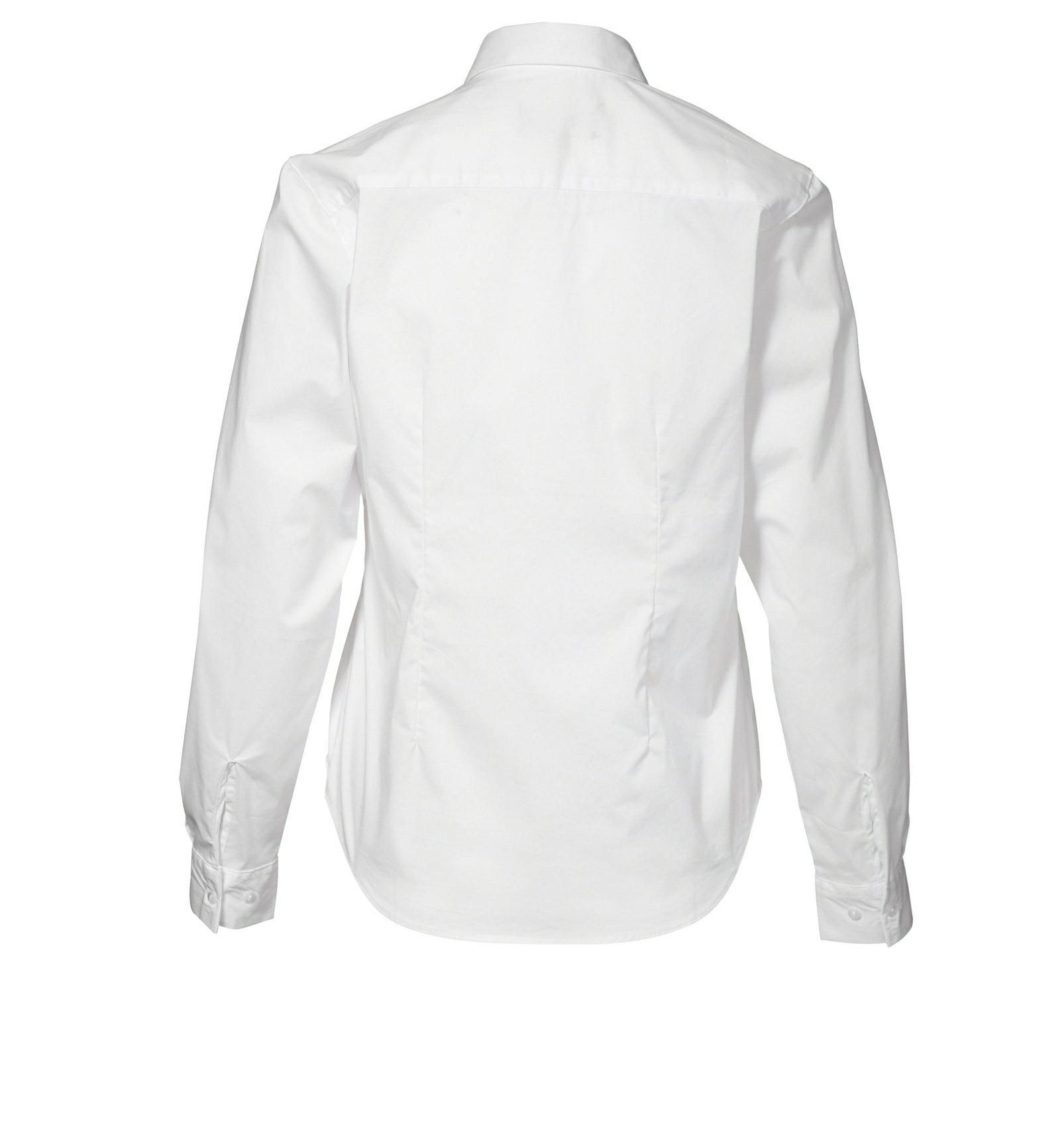 801f0e4c Langærmet dame skjorte - AL Broderi